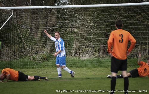 Cliffe FC Sunday 4-3 Selby Olympia 19Apr15
