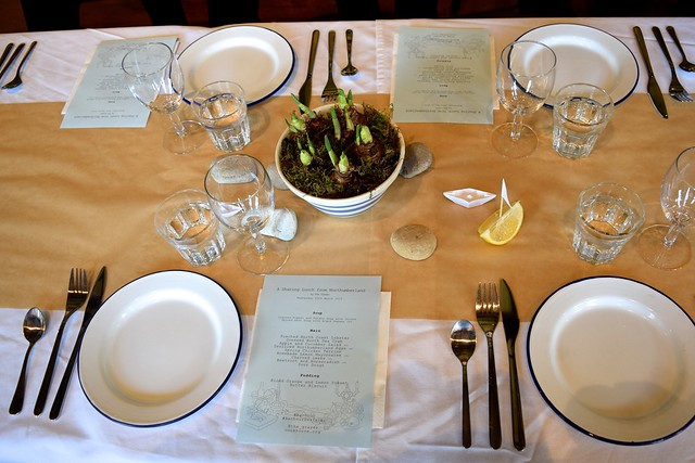 Barbour Table Setting by Anna Hedworth