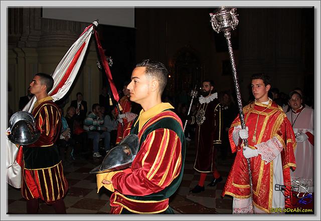 Semana Santa en Málaga. Cofradia de Viñeros (12)