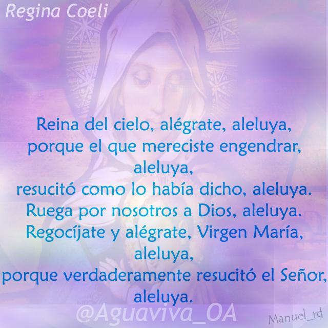 Regina Coeli (Reina del Cielo)