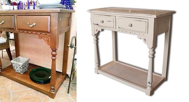 AionSur 17069569535_ed76814e41_z_d Transformar muebles viejos: De consola clásica a retro Empresas Muebles Sarria
