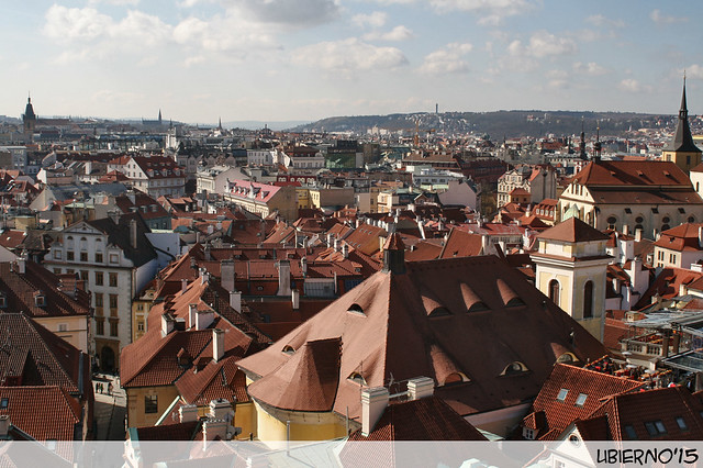 Views from the astronomical clock tower