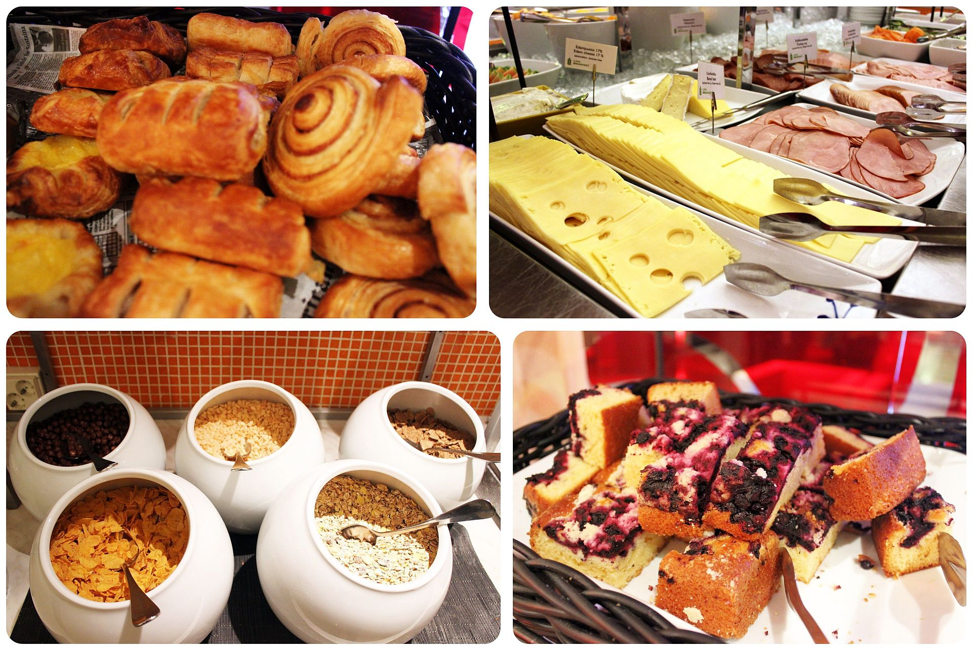 Radisson Blu Royal Helsinki Breakfast Buffet