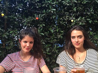 Carlotta + Ana / Hinds / LA / 26 March 2015