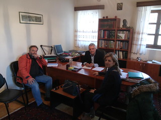 Συνάντηση της Μερόπης Τζούφη με Δήμαρχο Ζαγορίου και κατοίκους της περιοχής