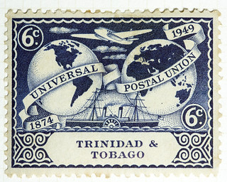 Universal Postal Union Trinidad and Tobago 6 cents (4)