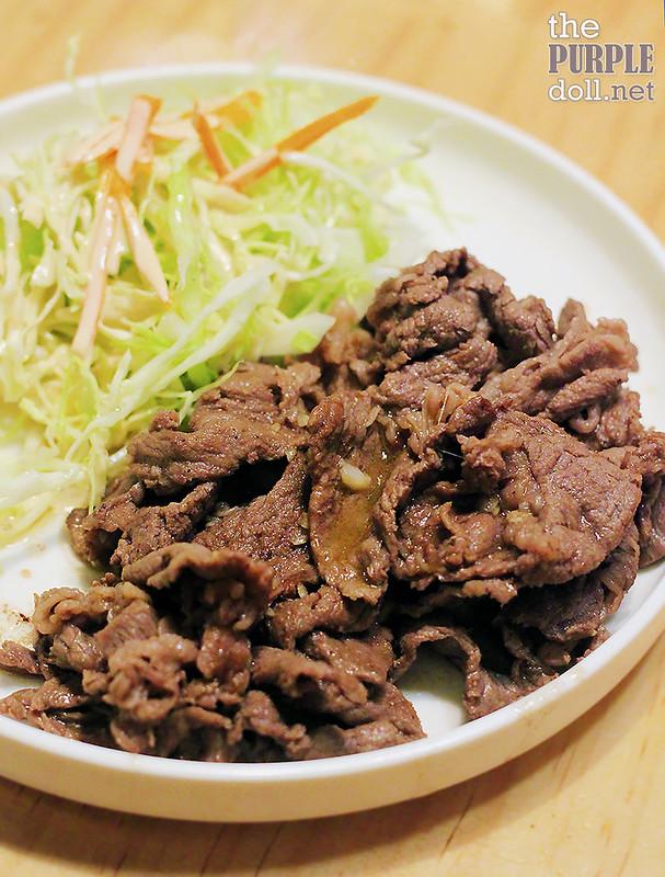 Sake Beef Teppanyaki (P330)