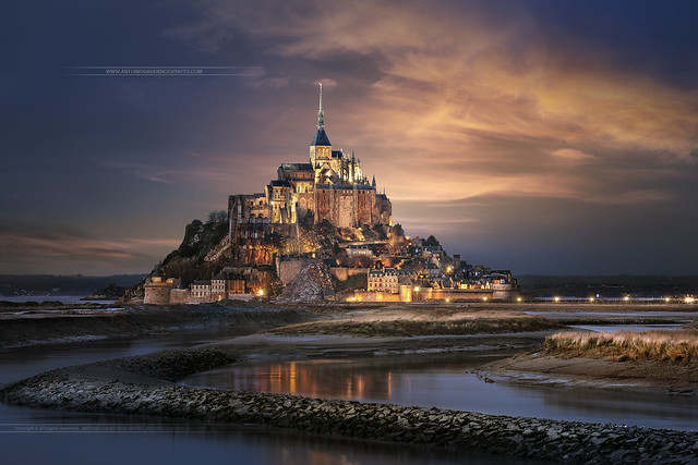 Mont Saint Michel / Normandy / France