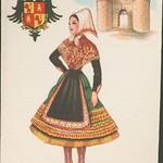 Fri, 1960-01-01 00:00 - Título: Toledo, [Tipos regionales]  Publicación: Madrid : F. Molina, [entre 1950 y 1960] Descripción física: 1 il.. : col. (tarjeta postal) ; 9x14cm. Notas: La ilustración la firma Elsy Gumier. Signatura: POS 1009
