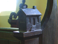 house bench end