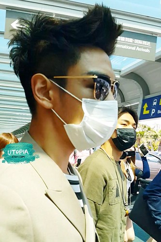 Big Bang - Jeju Airport - 19may2015 - TOP - Utopia - 02