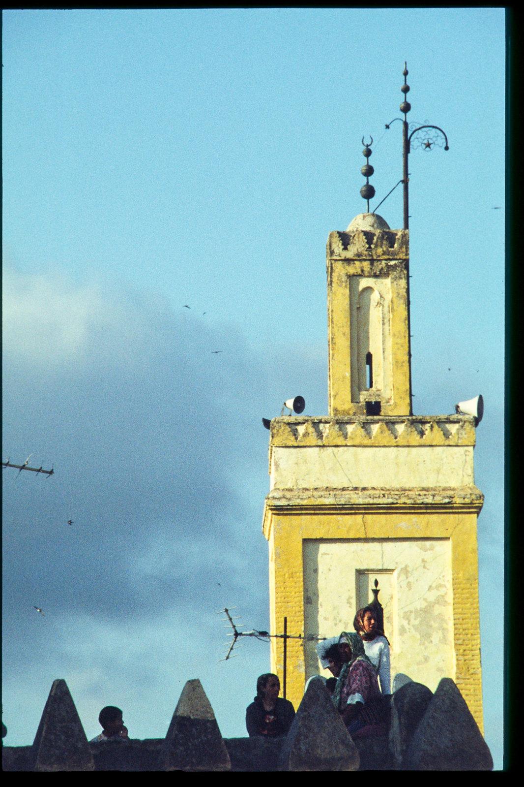 Festival de musique de Fes - Du haut du minaret