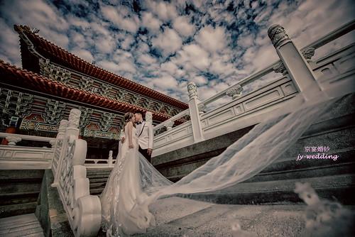 高雄婚紗推薦_高雄京宴婚紗_如何依身型挑選適合的婚紗禮服_高+瘦 (2)
