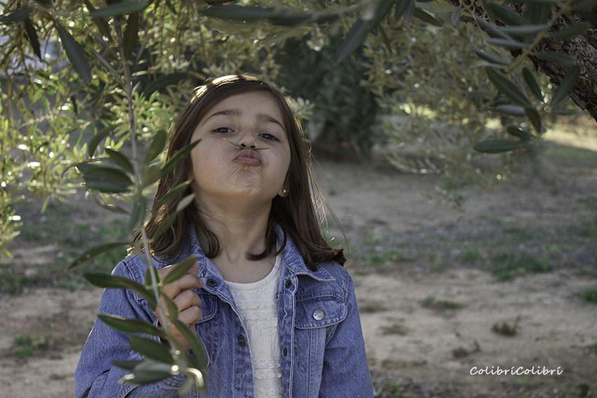 Jugamos en el olivar