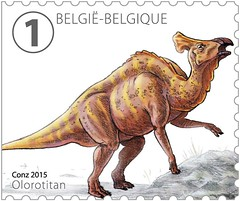 14 DINOSAURES timbre c