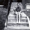 Me & Midge, summer of 1963, Irvington neighborhood, Baltimore, Maryland.