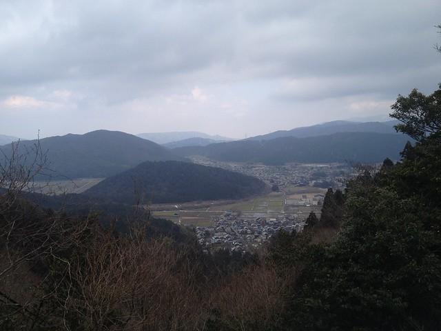 清滝山 尾根からの眺望