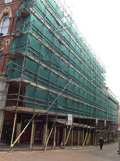 Midland Metro Extension - preparatory works - Pinfold Street