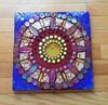 Mosaic sun mandala