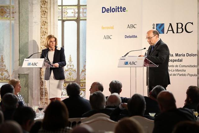 Cospedal interviene en el Foro ABC Deloitte