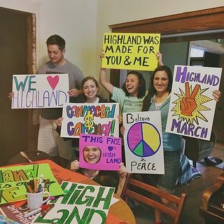 Highland parade
