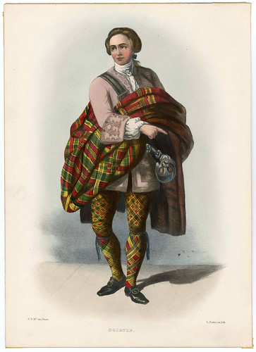 014-Clans_of_the_Scottish_Highlands_1847_Plate_048-The Metropolitan Museum of Art-Thomas J. Watson Library