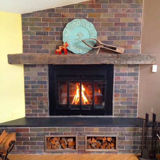 Fireplace renovation before and after eric asp for Fireplace renovations before and after