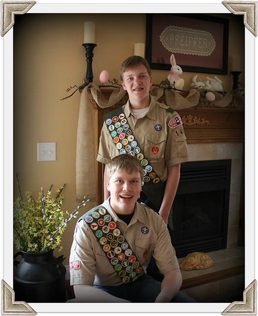 Ian and Jacob Eagle Scout Invitation