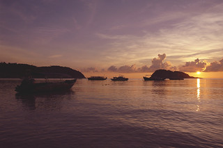 Sunrise at Redang Island