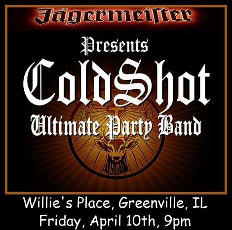 ColdShot 4-10-15