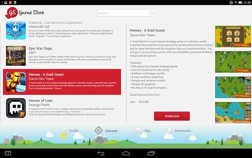 Gamestore ของ Lenovo Yoga Tablet 2 10.1