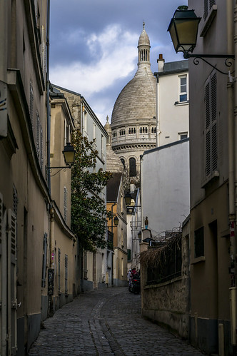 Montmartre, vers le Sacré-Coeur