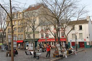 Place du Tertre - Paris (France)