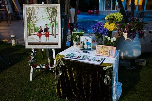 推薦婚宴場地:台南商務會館,米老鼠米奇的特殊結婚婚禮風格婚佈區6