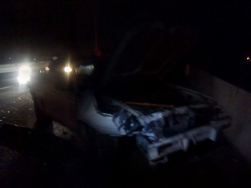 Foto: accidente en el SurPoniente by inqro