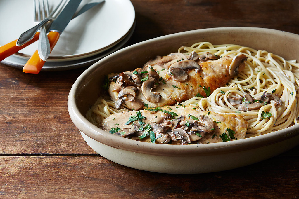 Creamy Weeknight Chicken Marsala
