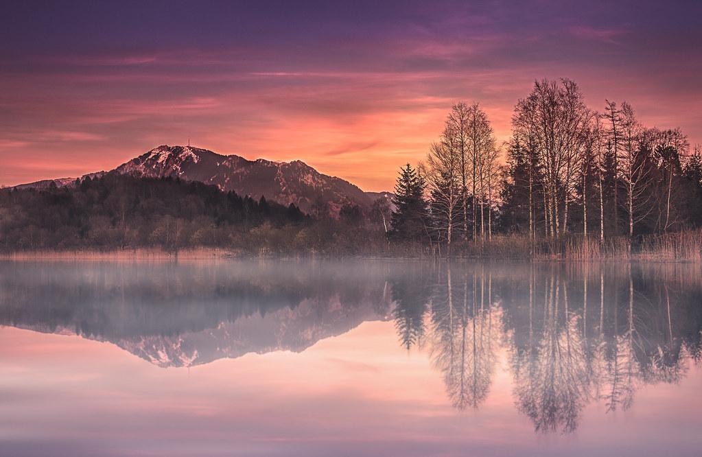 Sonnenuntergang Bühl