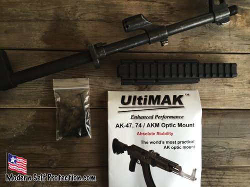 UltiMax Rail and Parts