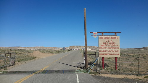 Welcome to the Four Corners Monument in the Navajo Tribal Nation