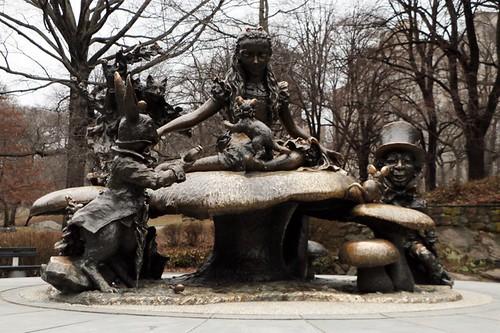 Central Park: Alice nel paese delle meraviglie