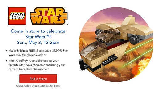 LEGO Star Wars Toys R Us Build Event