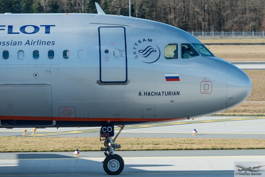 Aeroflot Russian Airlines Airbus A319-111 VQ-BCO A. Hachaturian (875028)