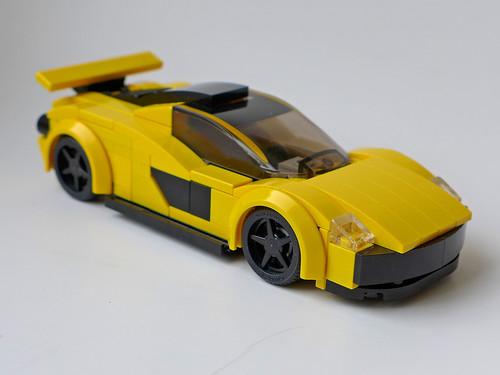 McLaren P1 (black hubcaps)