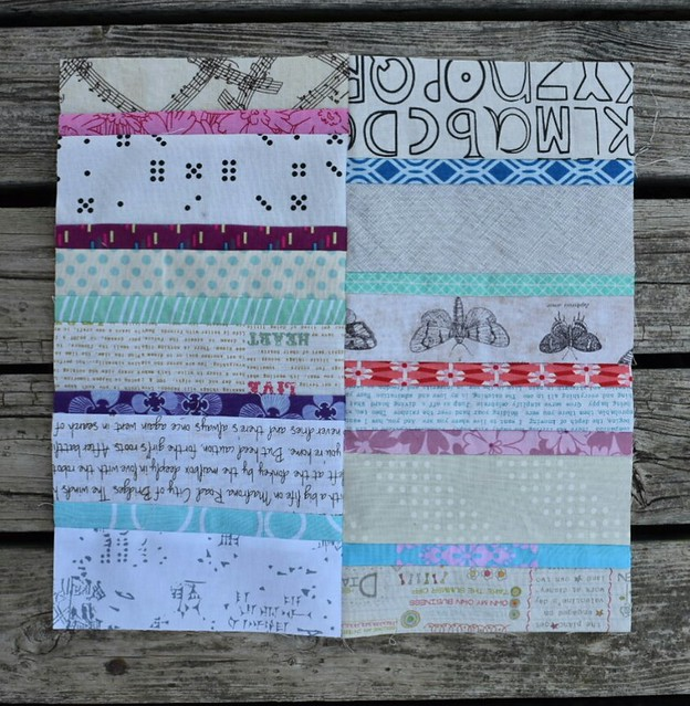 Leggings quilt block for M-R for May in the Canadians Quilt Bee.