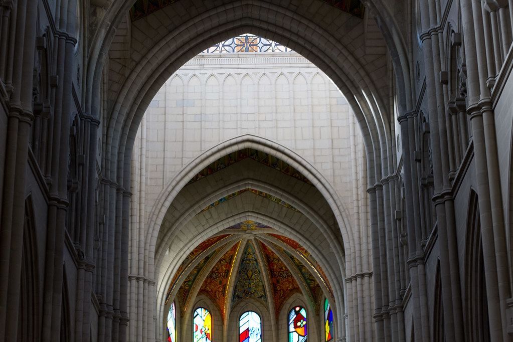 Inside Almudena Cathedral