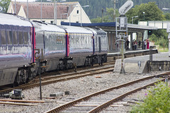 High Speed Train at Whitland west Wales