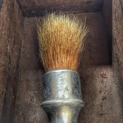 Aluminum Shaving Brush No 4