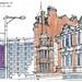 Manchester, 7e symposium Urban Sketchers by gerard michel