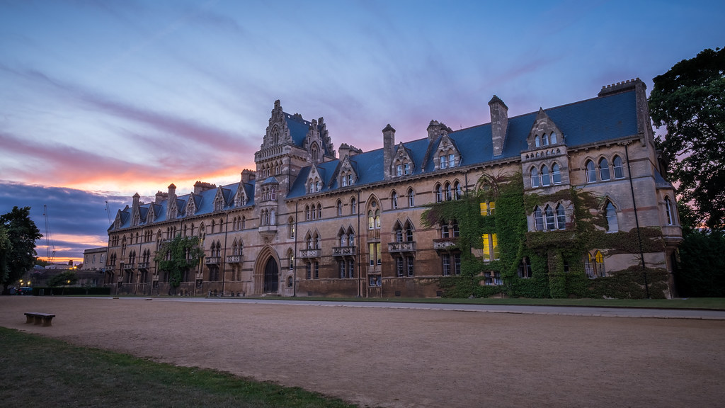 Christ Church college - Oxford, England - Travel photography