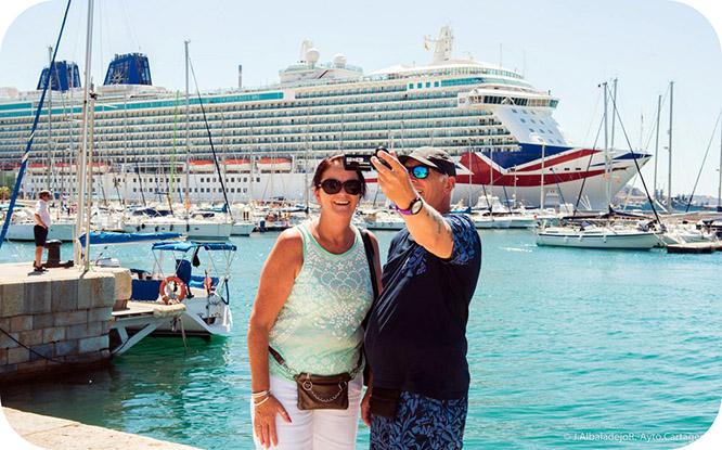 26 mil cruceristas desembarcarán en agosto en aguas cartageneras